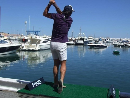 Golf and Sea