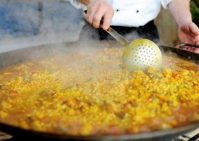 Paella Cooking Seville