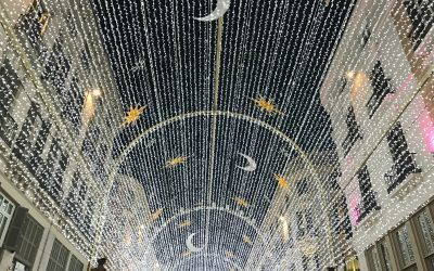 What do Spaniards celebrate at Christmas time?