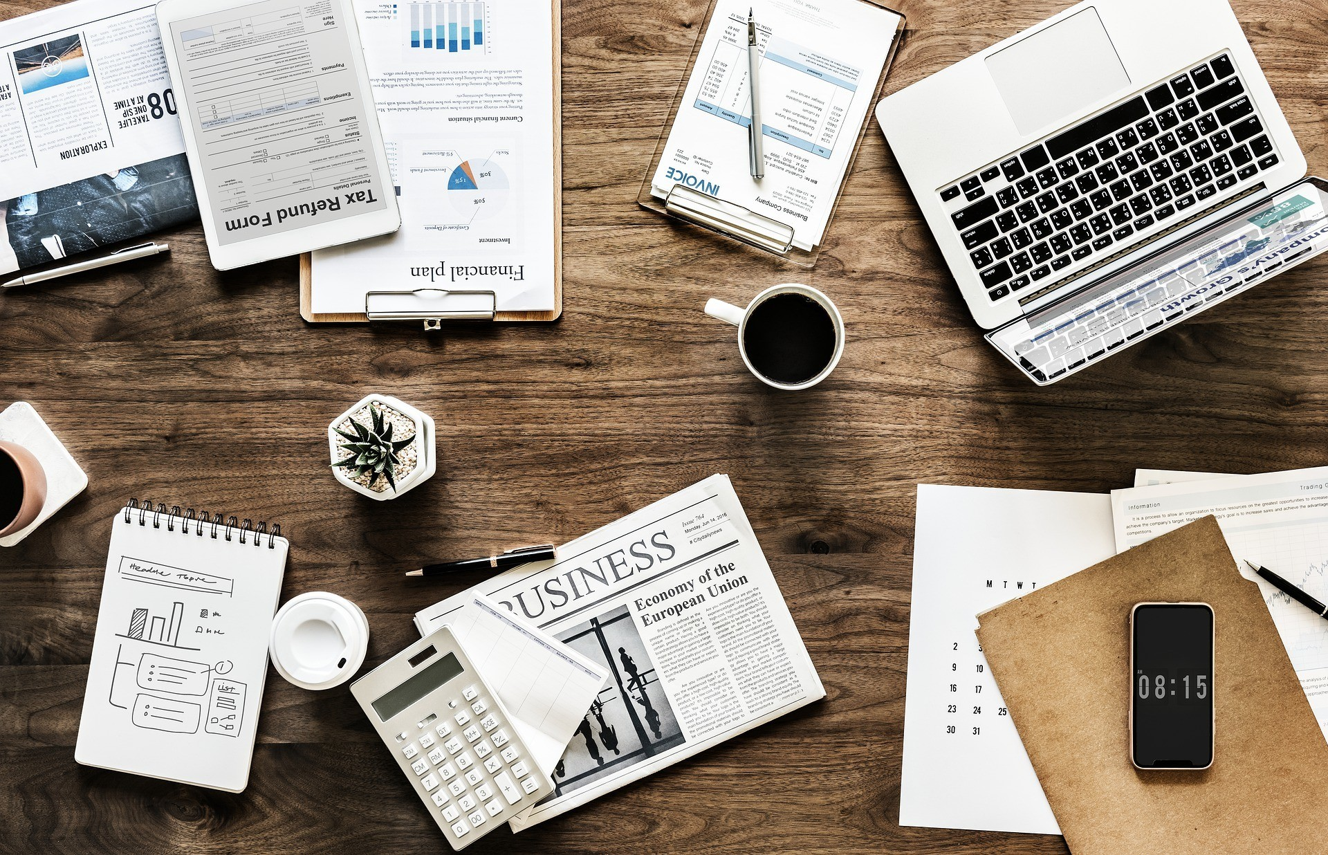 Preparing business travel