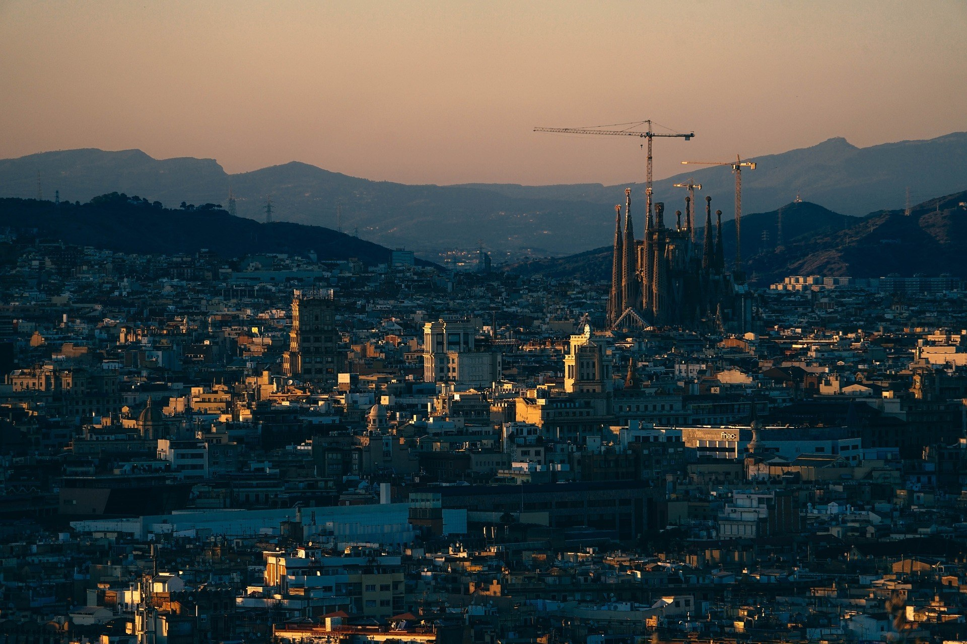 Visiting Barcelona: 5 Places Not to Miss - Barcelona landscape