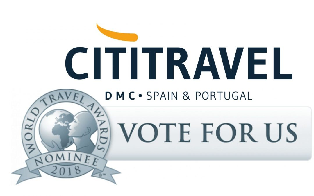 Cititravel Portugal nominated for a World Travel Award!