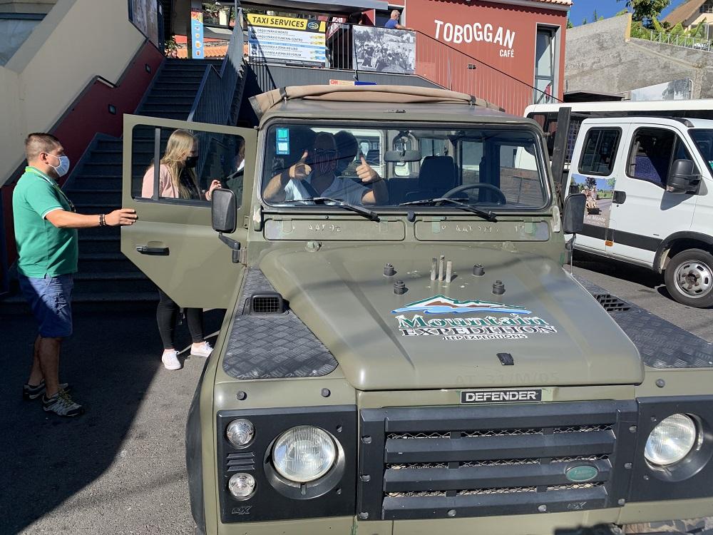 Jeep tour Madeira
