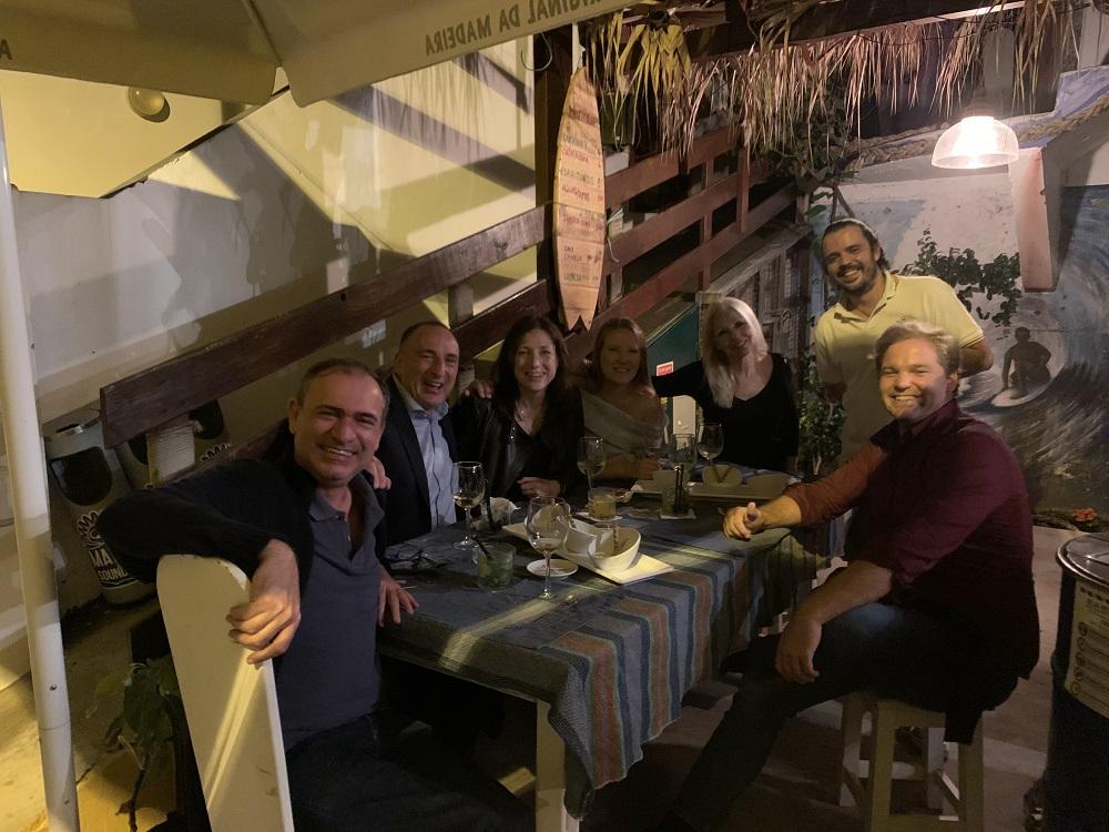 Cititravel team at Restaurant