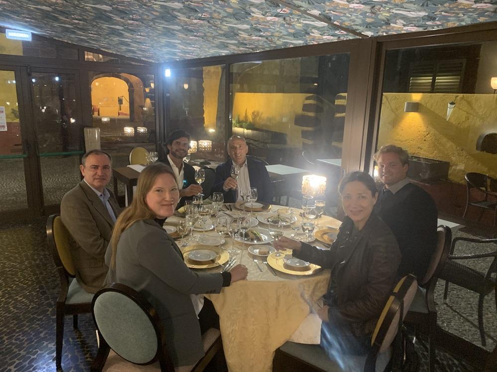 """Dinner at Restaurant """"Do Forte"""" in Funchal (Madeira)"""
