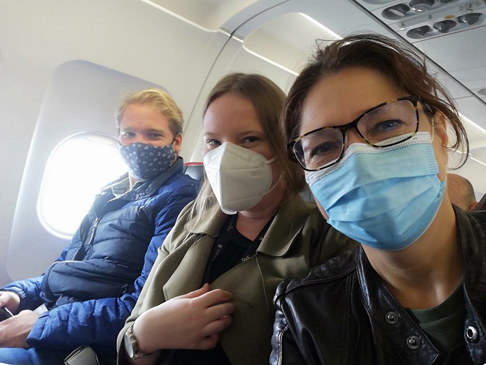 Flight to Madeira