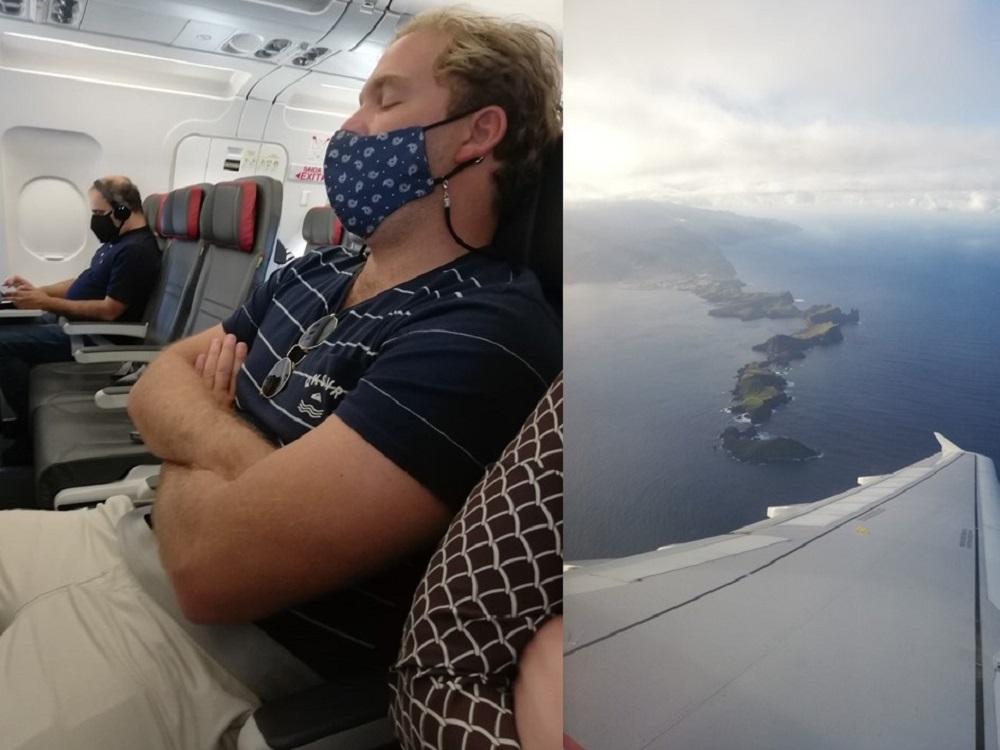 Return flight from Madeira