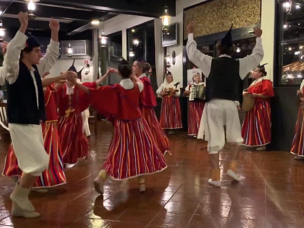 Traditional dancing Madeira